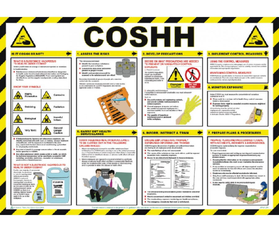 a step by step guide to coshh assessment