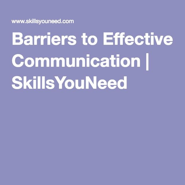 barriers to effective classroom communication pdf