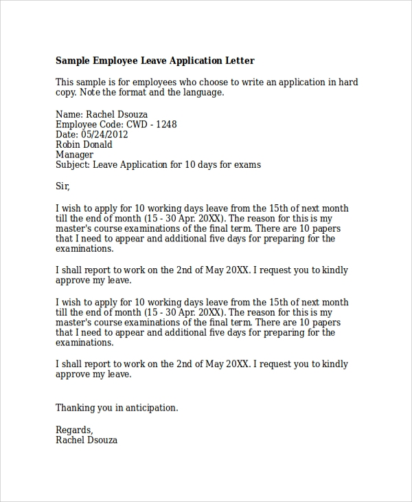 application letter with a picture sample word