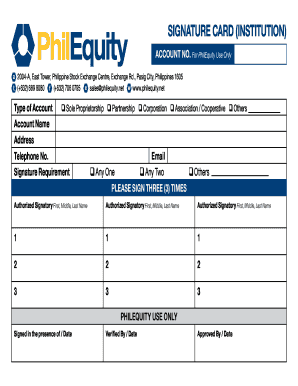 a fully accomplished application form will