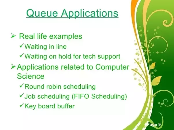 application of queue in data structure