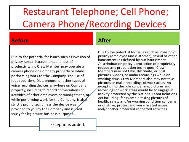 cell phone recording other terms