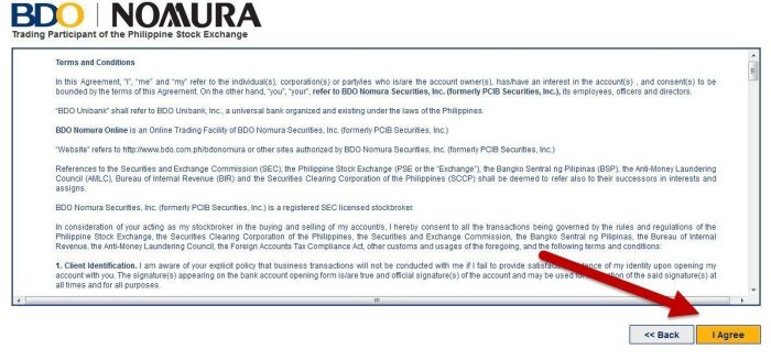 bdo nomura letter of instruction and consent