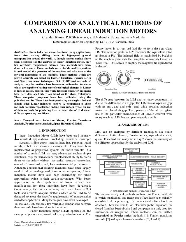 application of induction motor ee