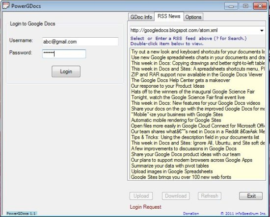 compress application software and email