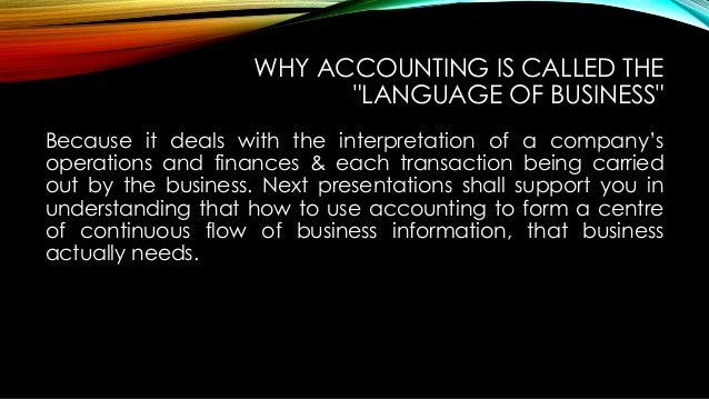 accounting the language of business pdf