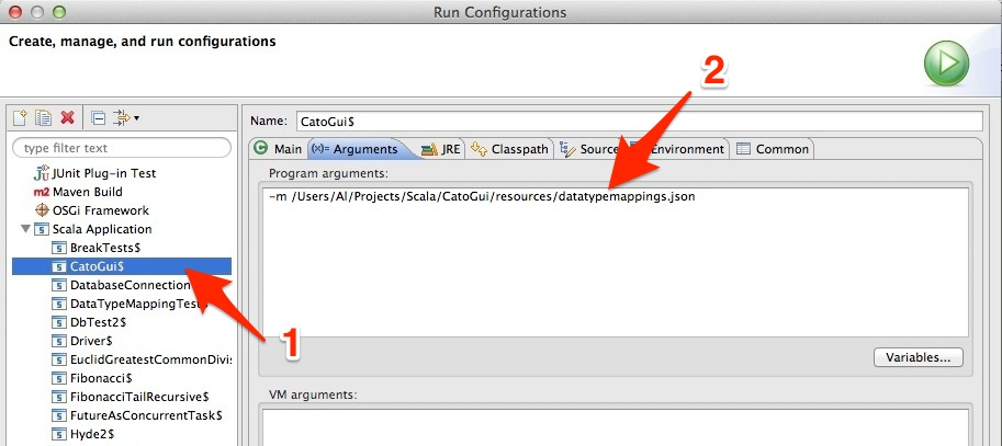 command to close application in eclipse