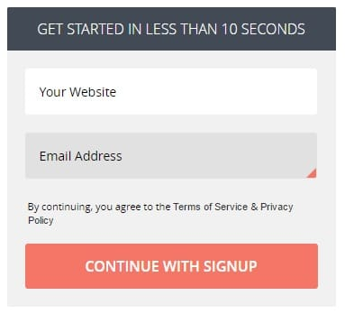 advantages of without signing a account to an application