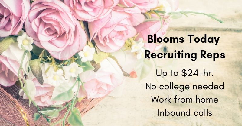 blooms today work from home