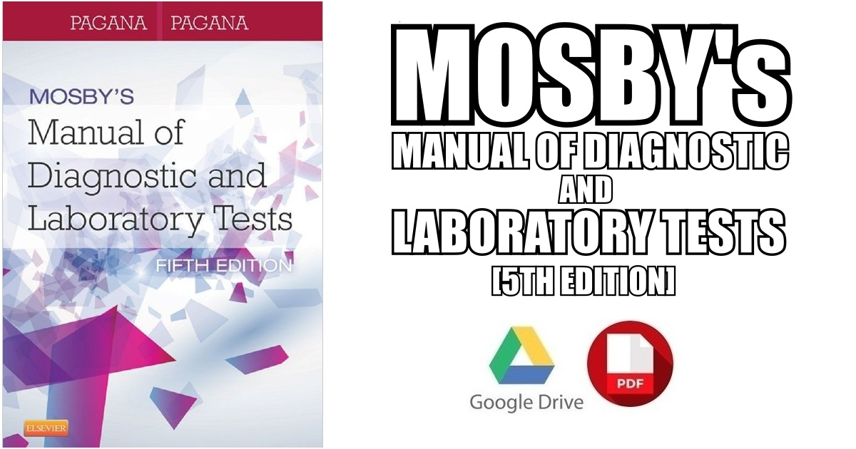 a manual of laboratory and diaggnostic tests pdf