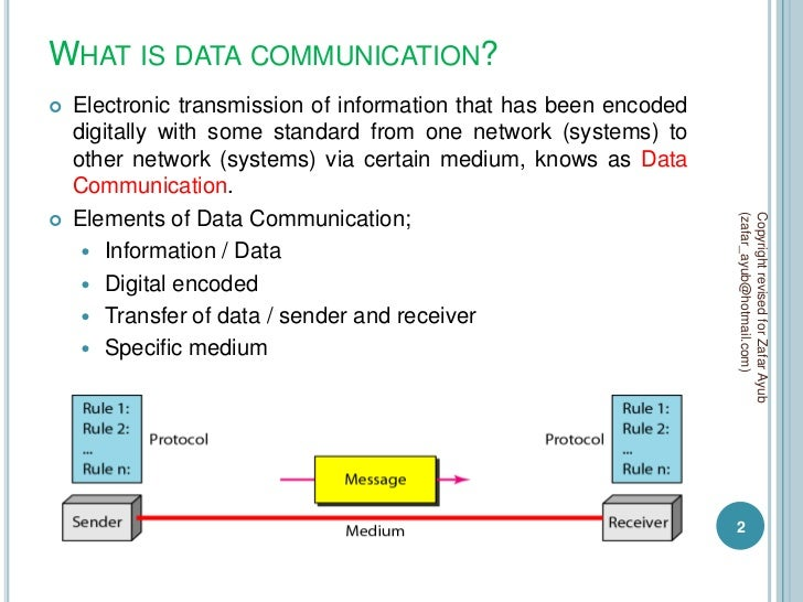 communication and network resources pdf