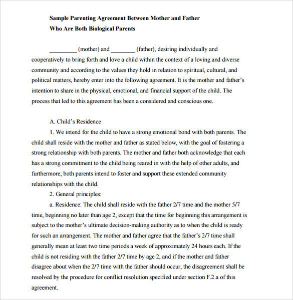 child support agreement letter philippines pdf