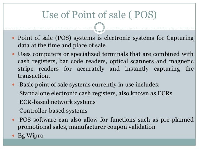 computerized point of sale with inventory system using barcode documentation