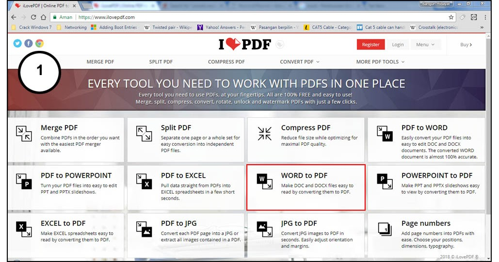 convert word to pdf office 2013