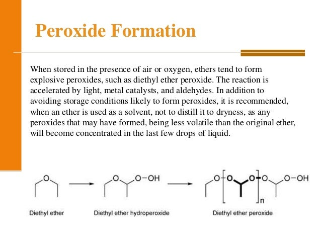 chemical properties of ethers pdf